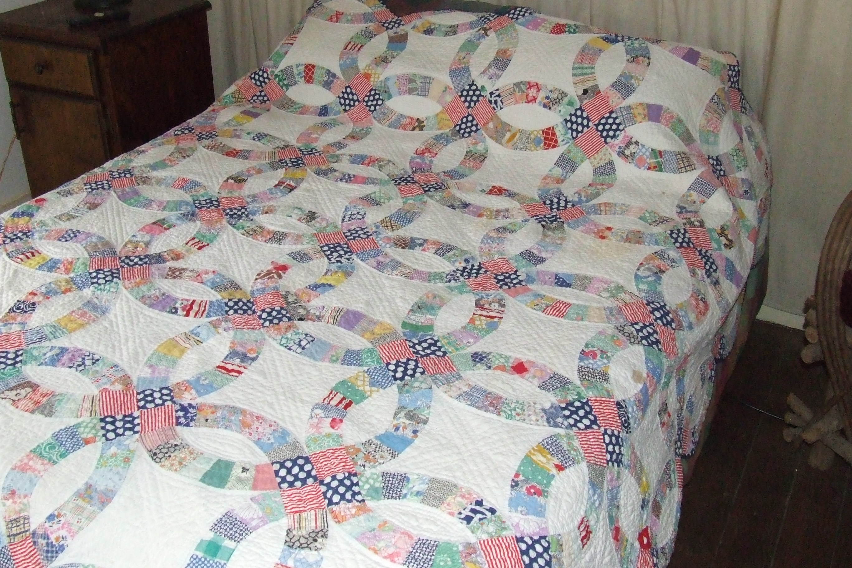 double wedding ring quilt for sale wedding ring sale double wedding ring quilt for sale pictures