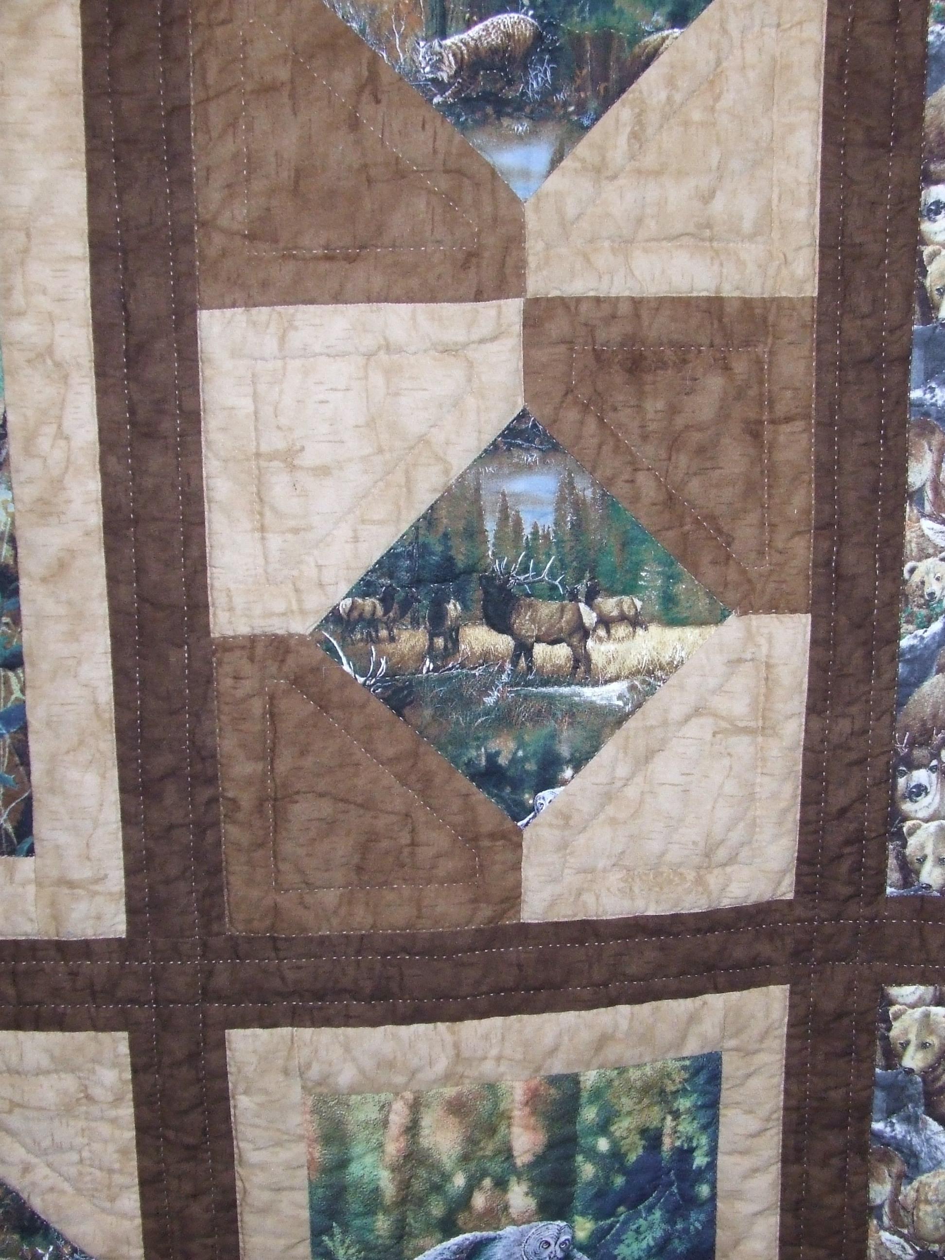 Fabric Pannel Tim Latimer Quilts Etc