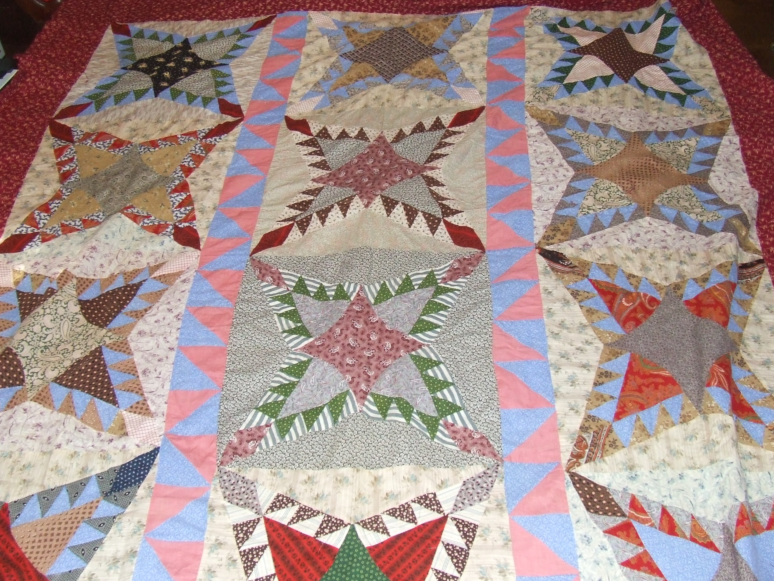 projects for recycled old quilts