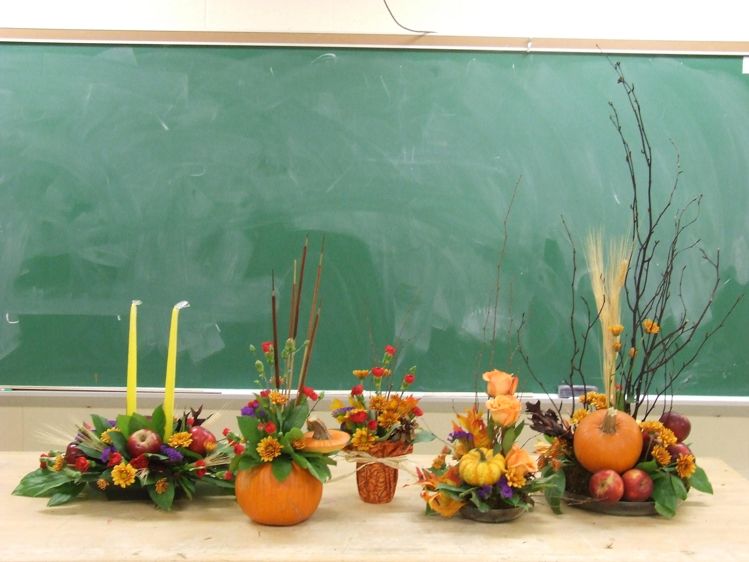 Fall Floral Design Workshop