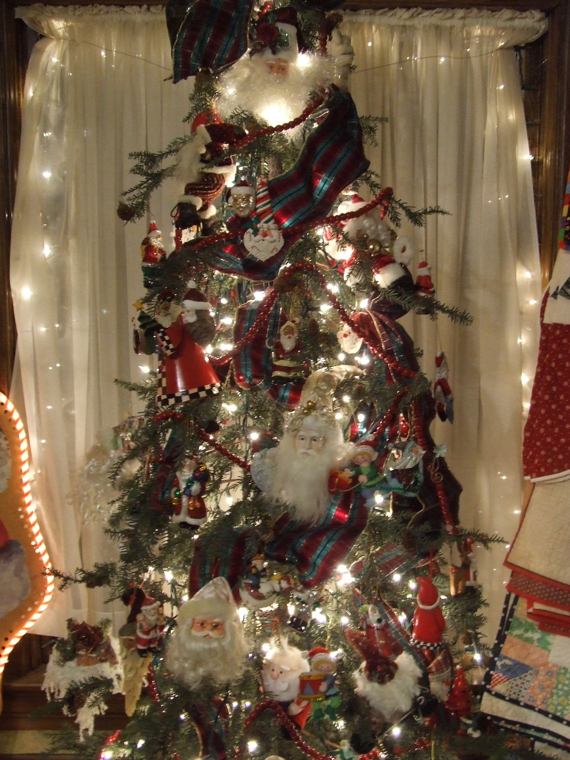 and - Santa Trees