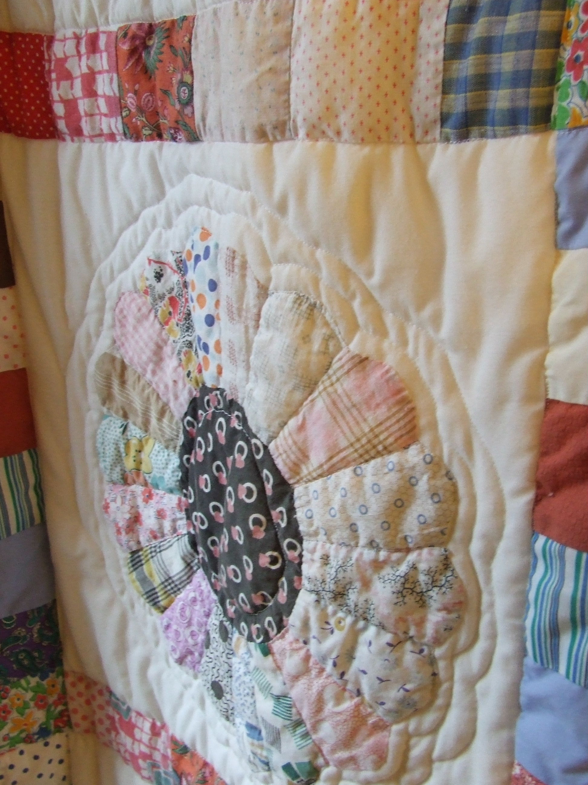 Shower curtain quilt pattern - The