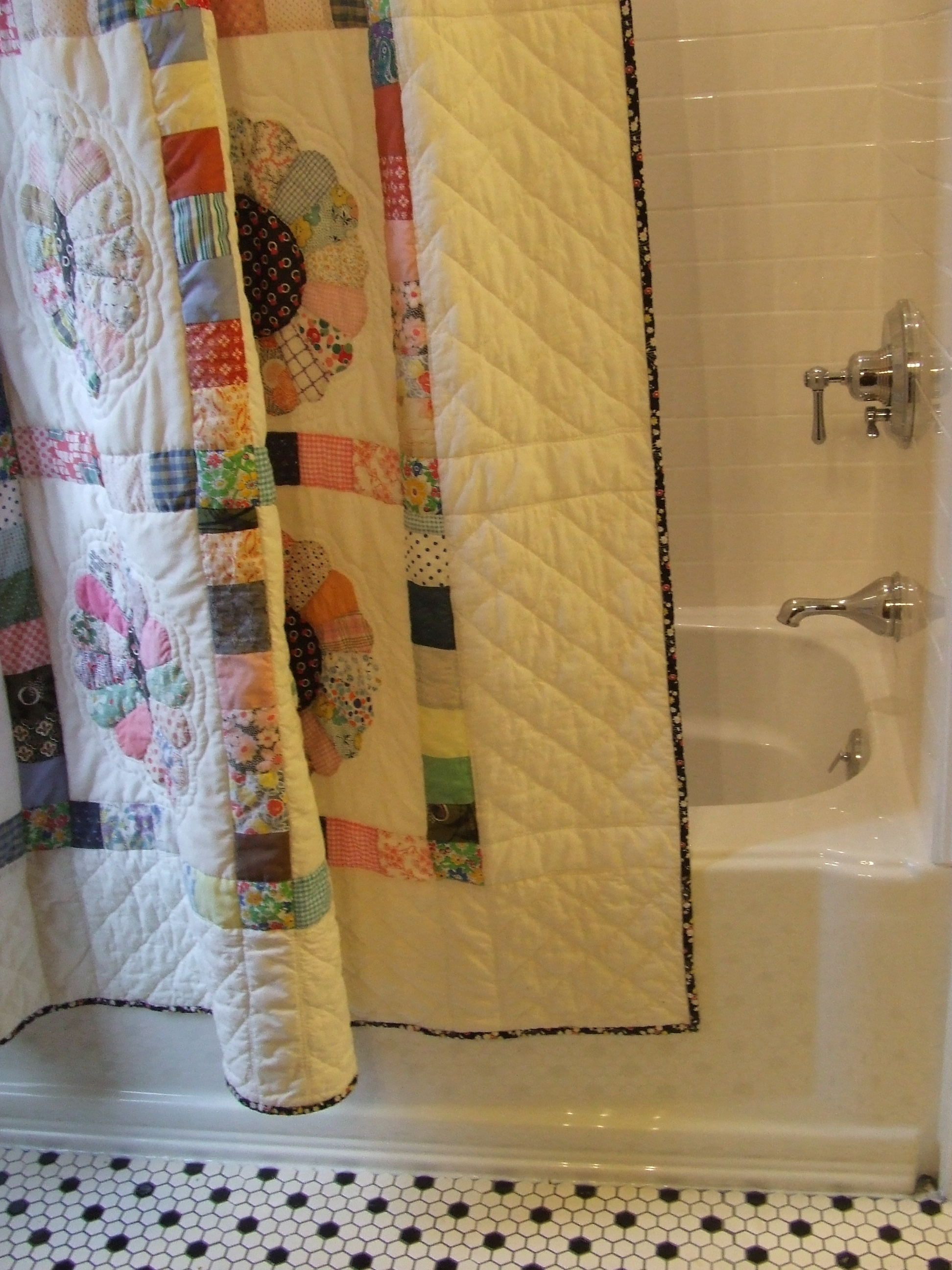 Shower curtain quilt | Tim Latimer - Quilts etc