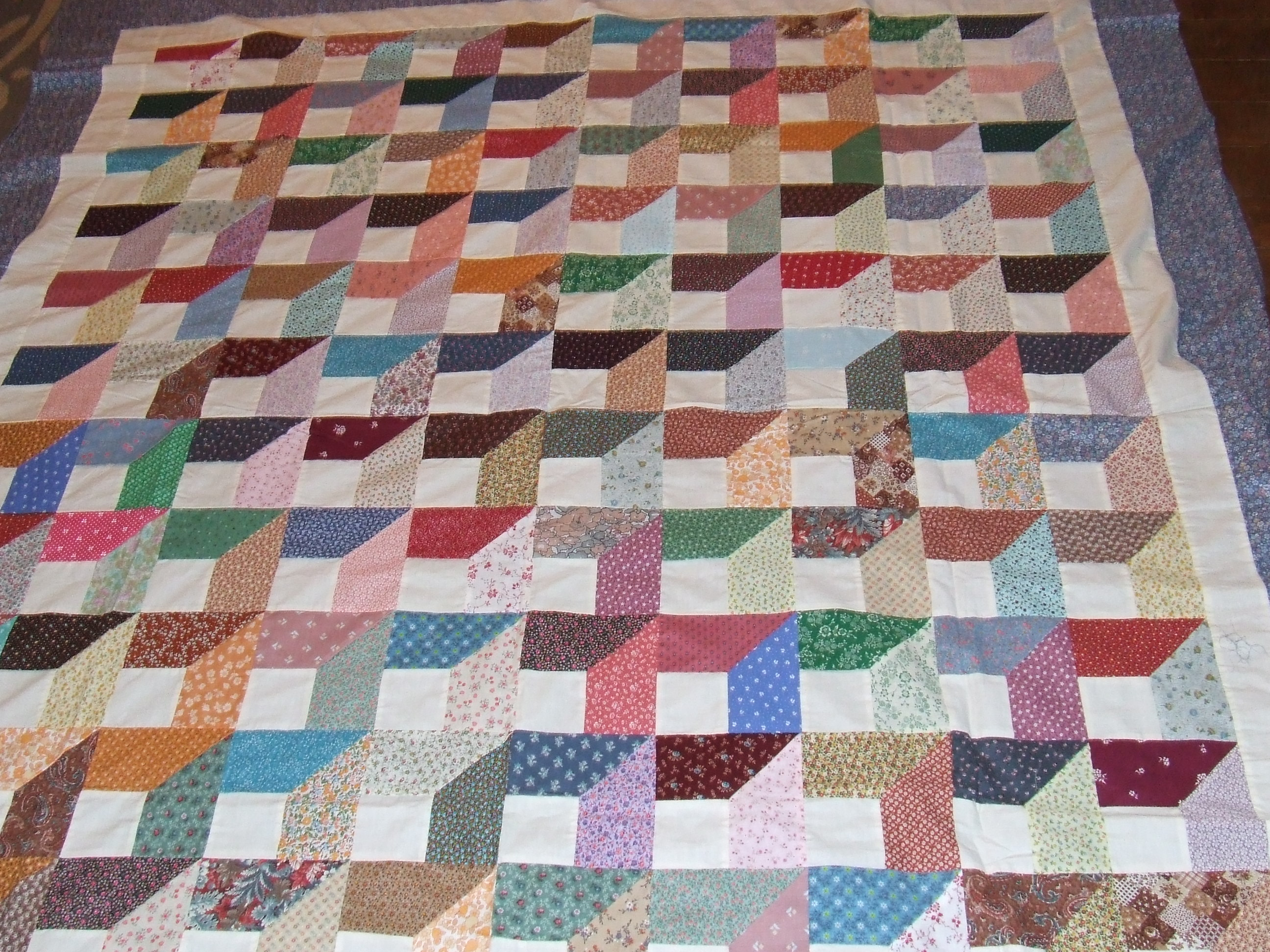 More spring quilt tops tim latimer quilts etc for Window quilts
