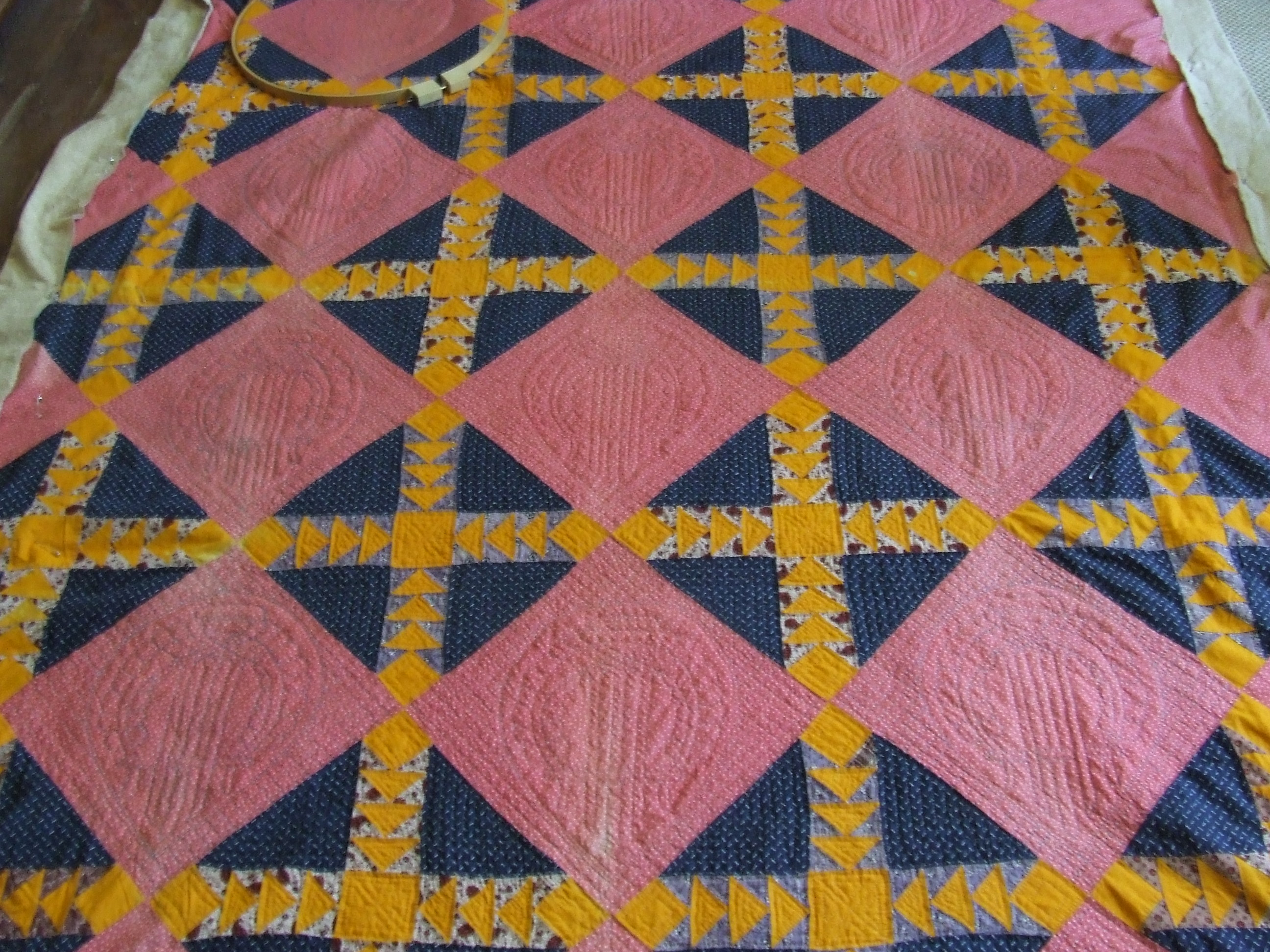 """Back to """"normal"""" hand quilting 
