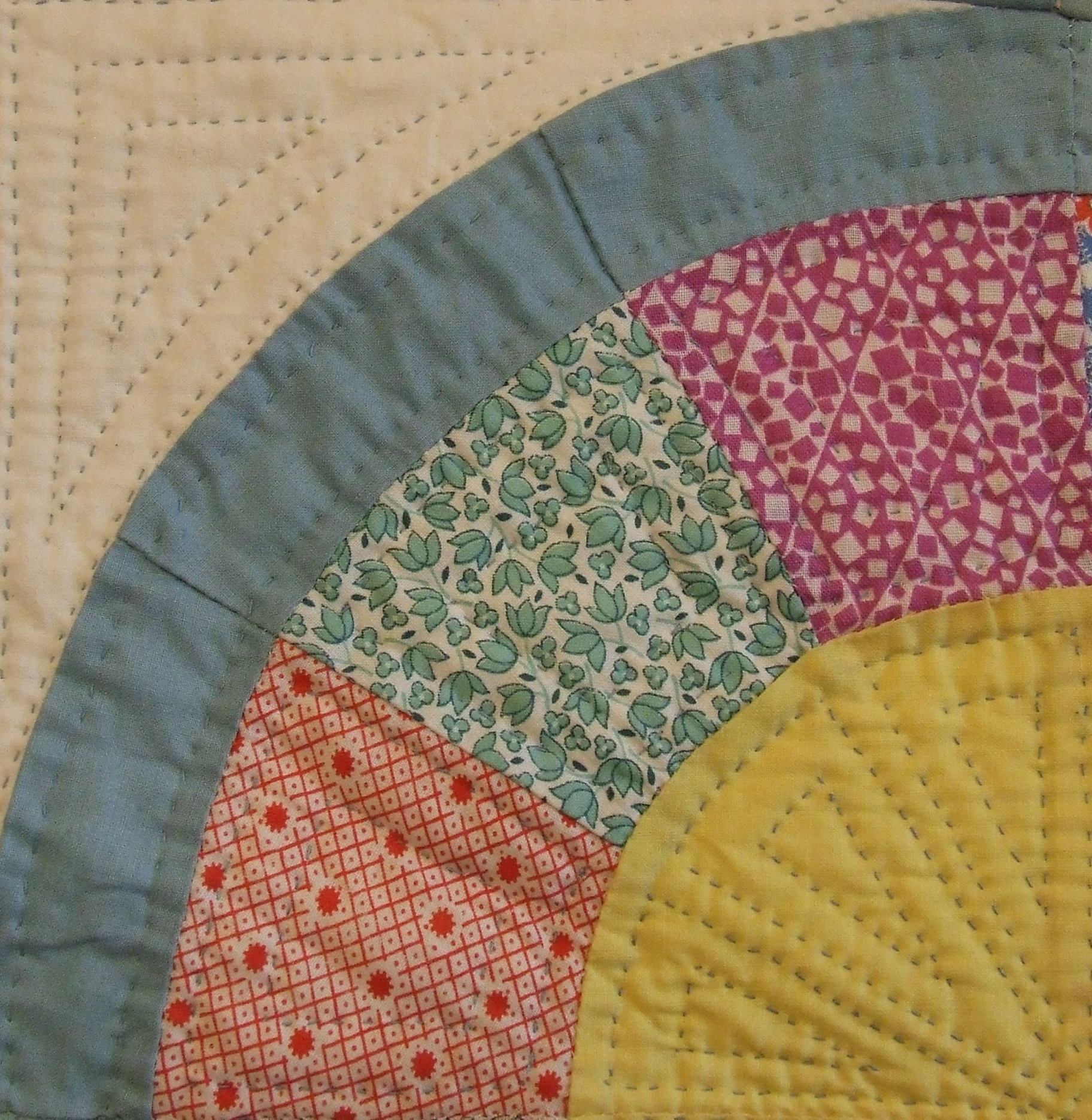 Fan Quilting begins | Tim Latimer - Quilts etc