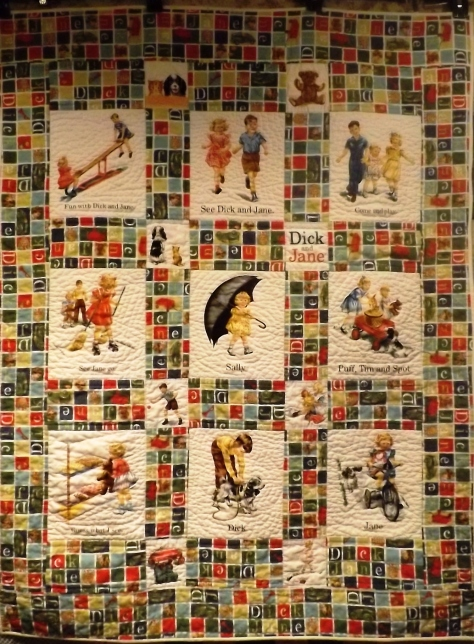 Dick and Jane Quilt 009