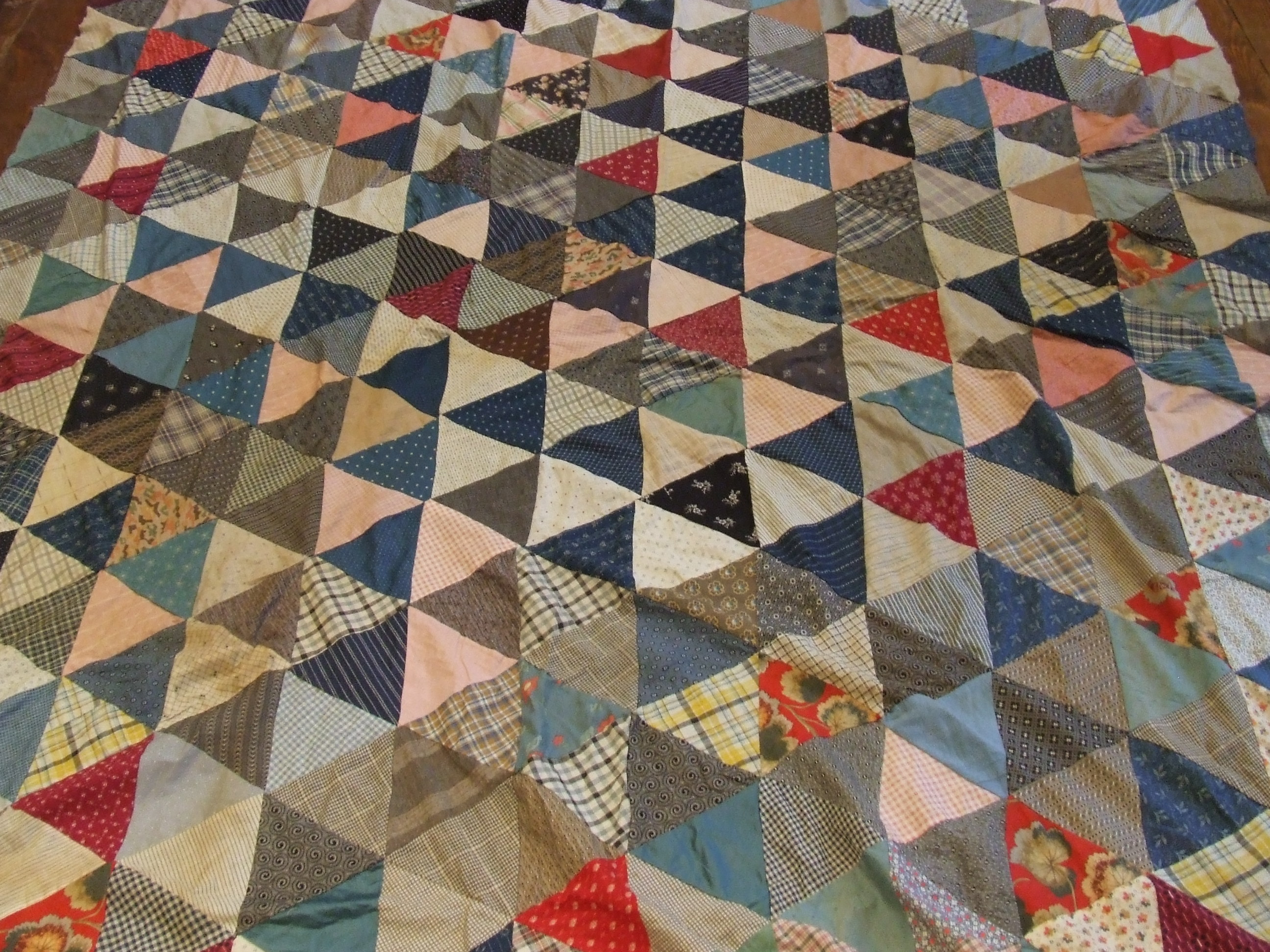 Antique quilts tim latimer quilts etc for What to do with an old quilt