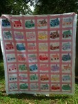 eBay Item number: 120927436950 (finished quilt) buy it now price $395