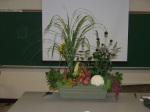 floral design using vegetables 1