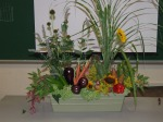 floral design using vegetables 2