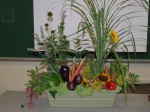 floral design using vegetables 3