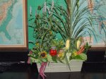 floral design using vegetables 6