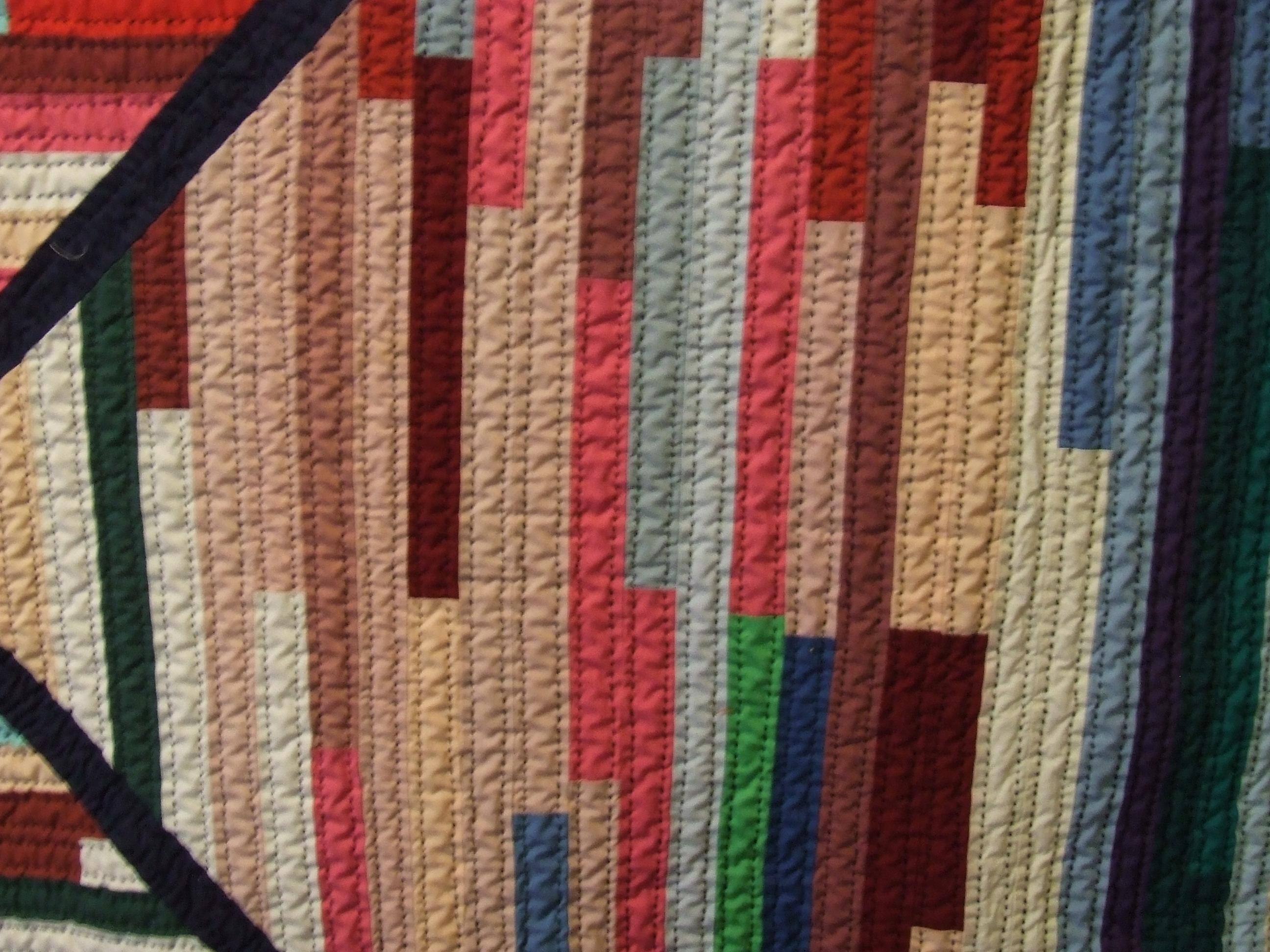 Vintage Strip Quilt Finished | Tim Latimer - Quilts etc : strip quilts - Adamdwight.com