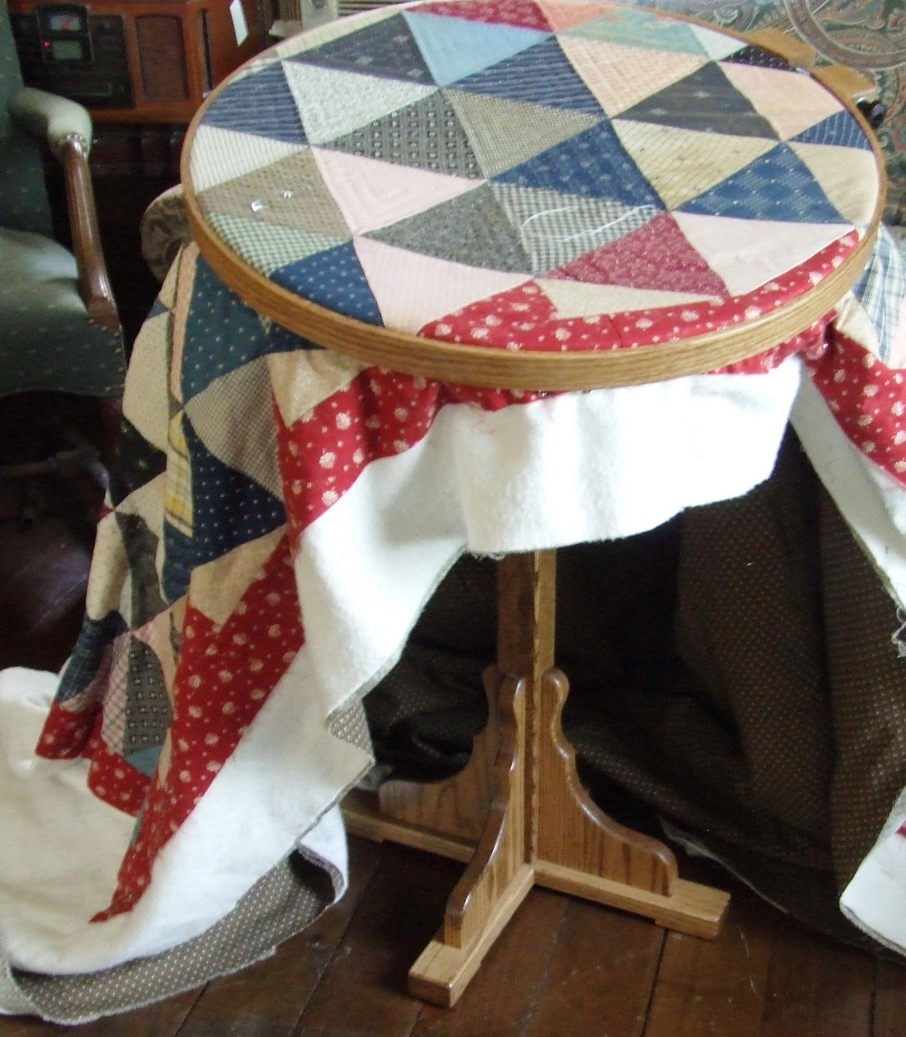 Hand Quilting Hoop/stand | Tim Latimer - Quilts etc : quilting hoop stand - Adamdwight.com