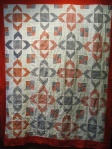 gingham quilt top
