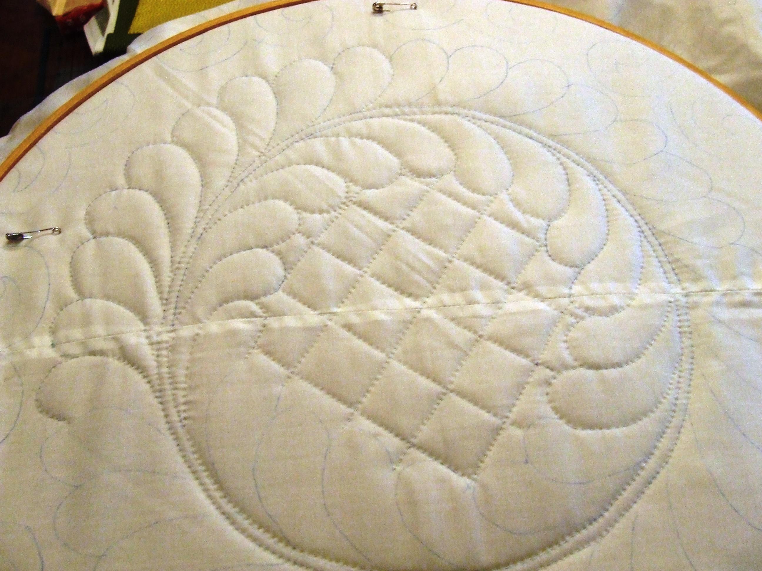 Whole Cloth Progerss 7 Tim Latimer Quilts Etc