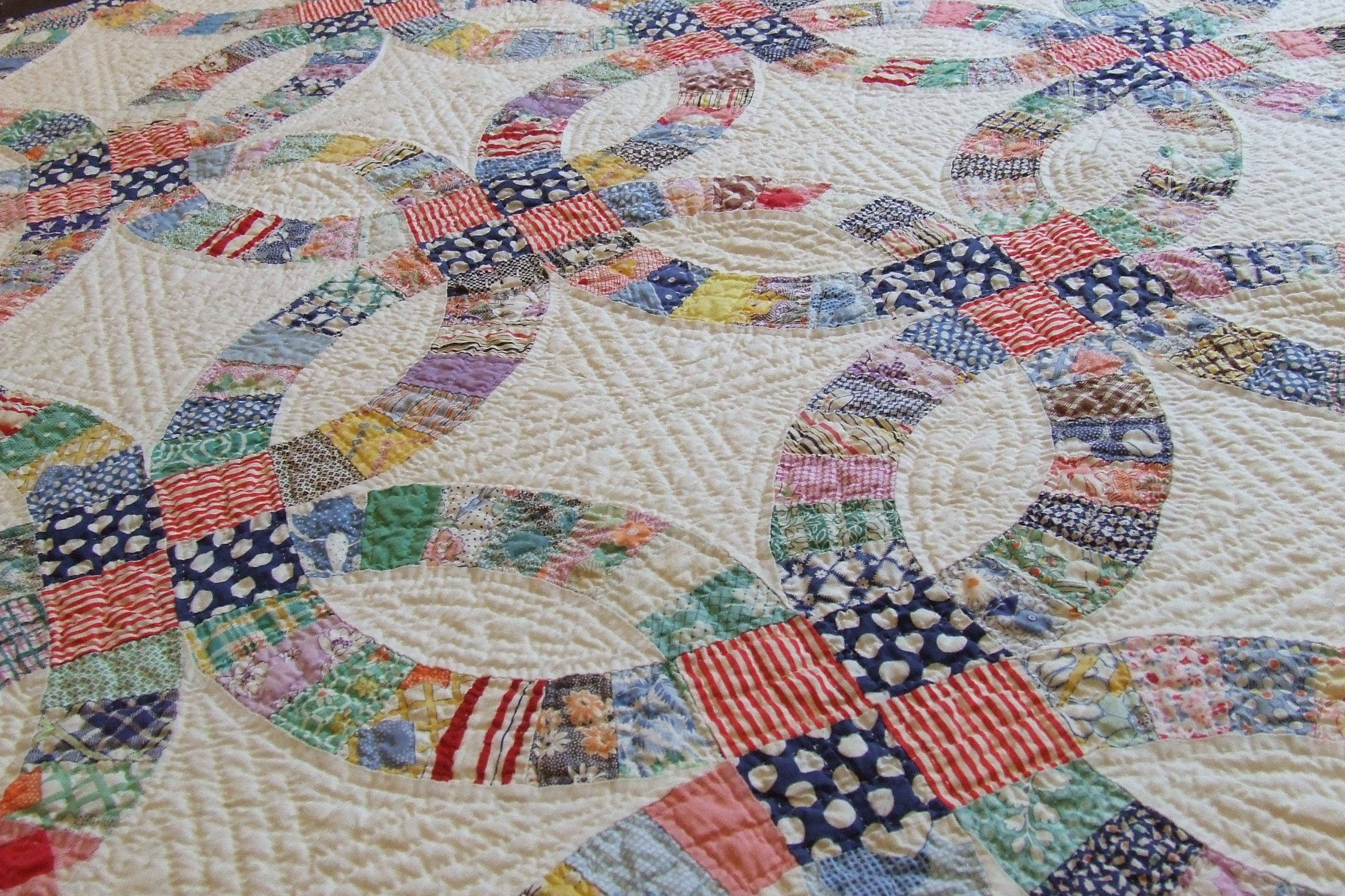Great Double Wedding Ring Quilt Pattern 2736 x 1824 · 1213 kB · jpeg