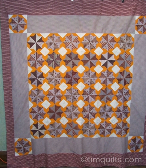 antique Cheddar Quilt top