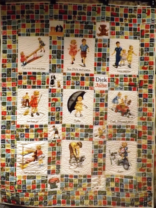 Dick and Jane Quilt 001