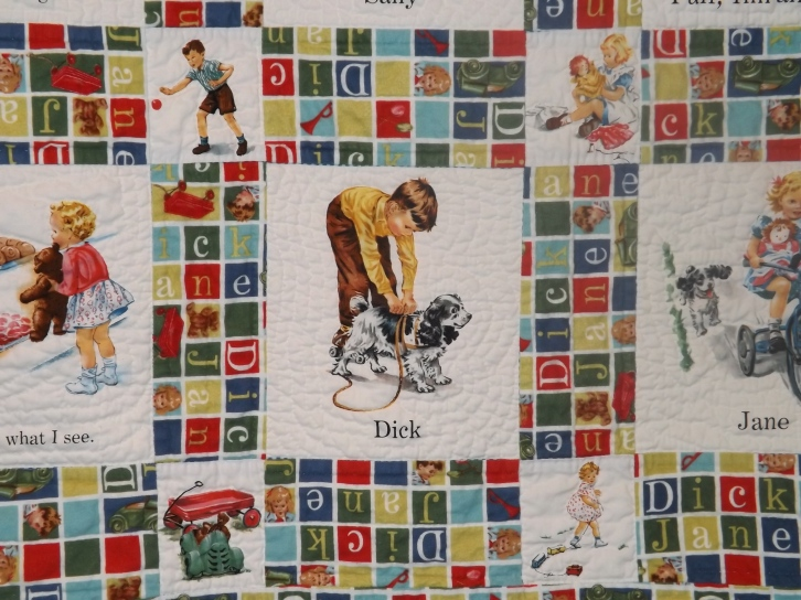 Dick and Jane Quilt 003