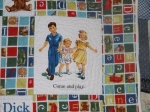 Dick and Jane Quilt 005