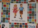 Dick and Jane Quilt 006