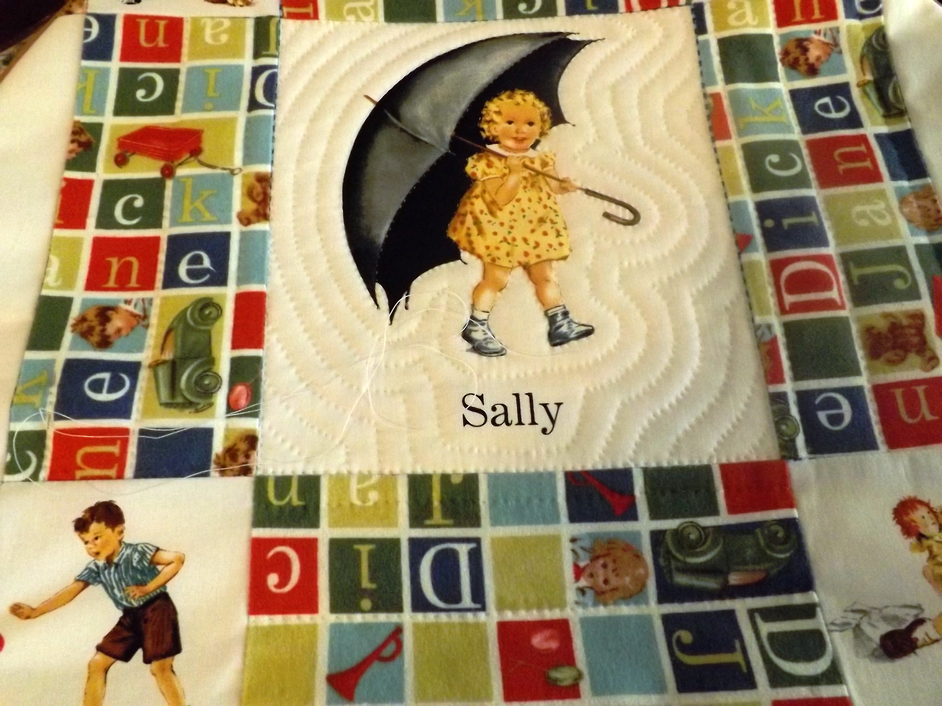 Dick and jane quilt pattern picture 941
