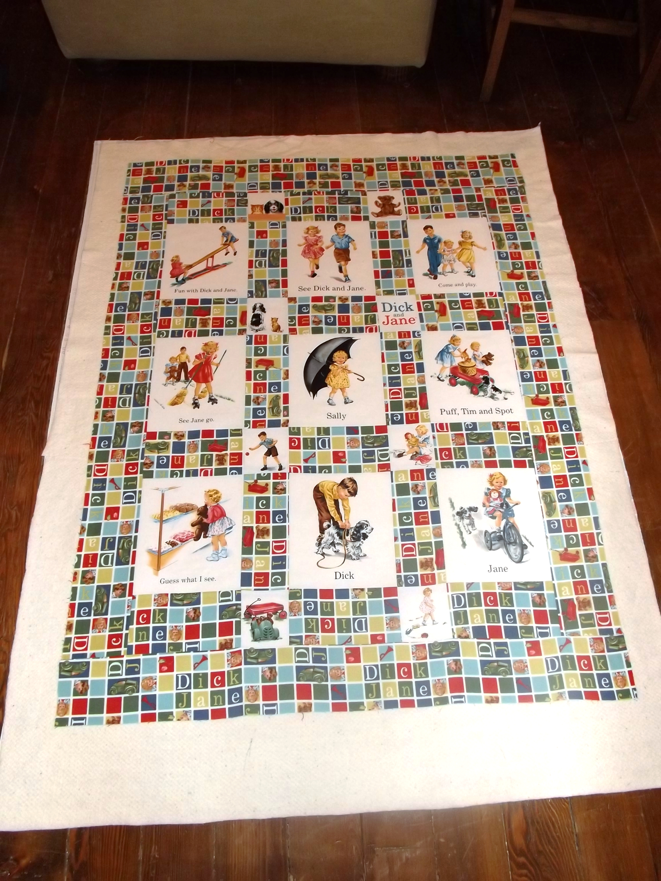 Dick and jane quilt pattern picture 21