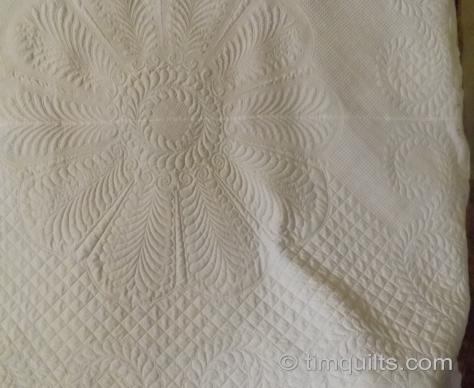 whole cloth quilting progress 003