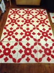 antique red applique blocks 001