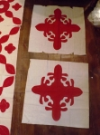 antique red applique blocks 003