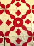 antique red applique blocks 006