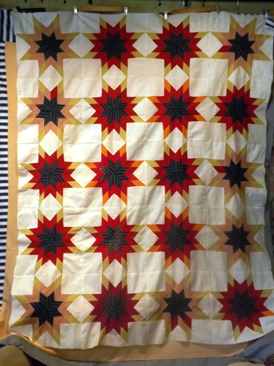Blazing Star Pieced 012