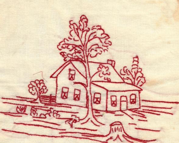 redwork house