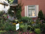 Front Yard (with city council sign for upcoming election)