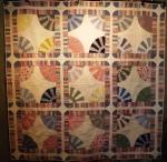 Vintage Fan quilt 001