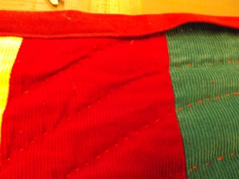 corduroy quilt finish 011