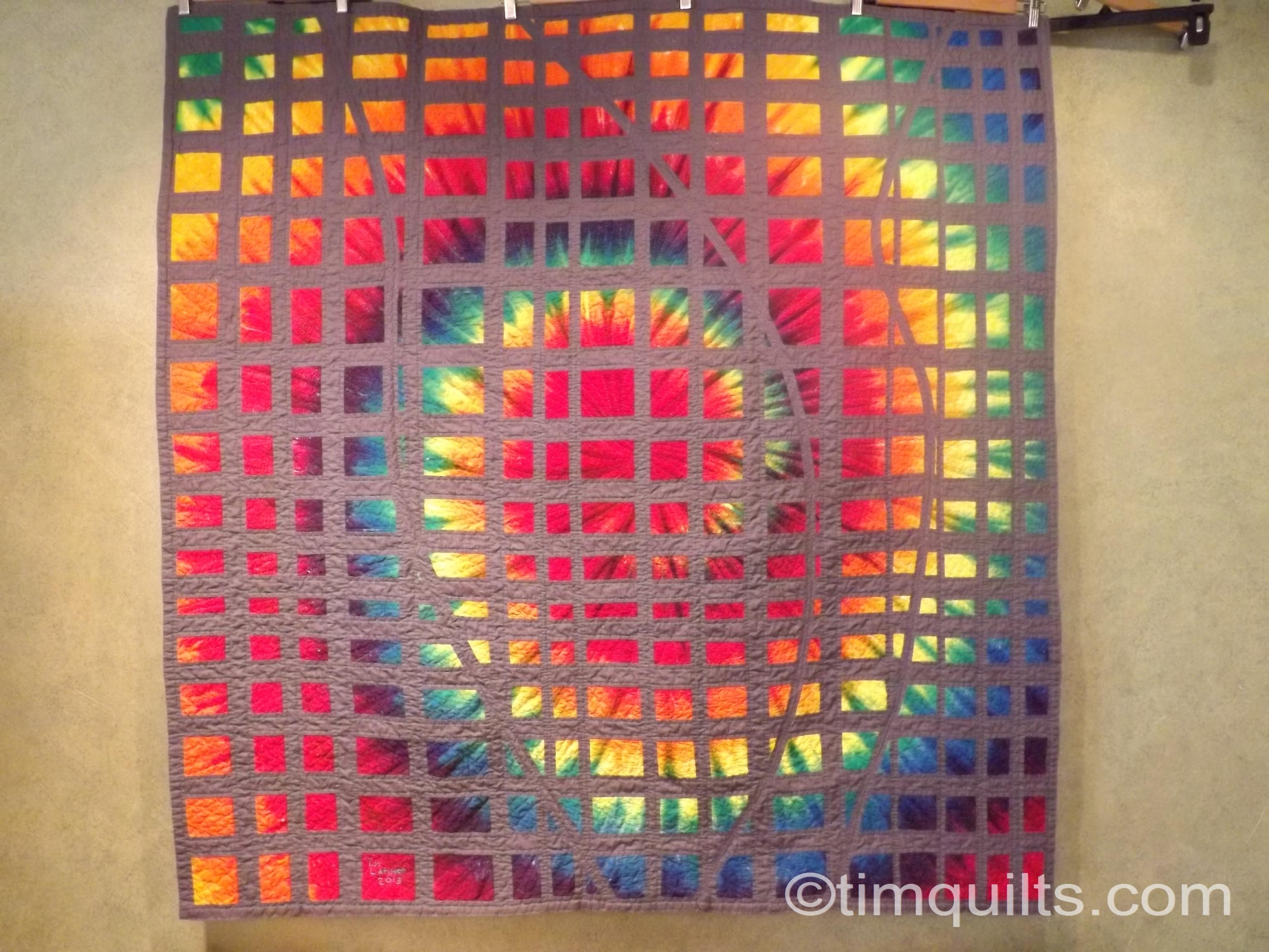 tie dye quilt finished 001   Tim Latimer - Quilts etc : tye dye quilt - Adamdwight.com