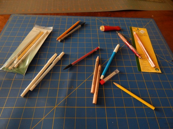 Marking the top for hand Quilting | Tim Latimer - Quilts etc : marking pens for quilting - Adamdwight.com