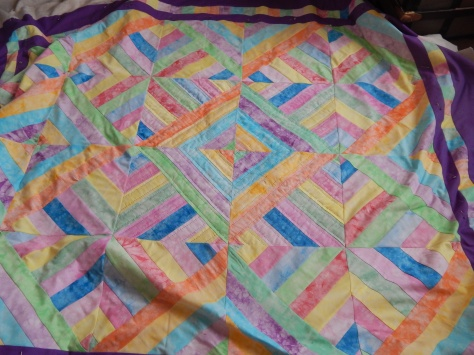 easter strip quilting start 006