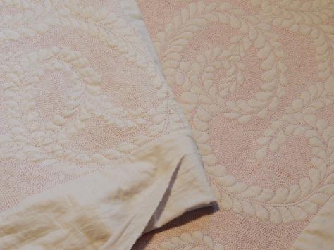 red thread whole cloth progress 010