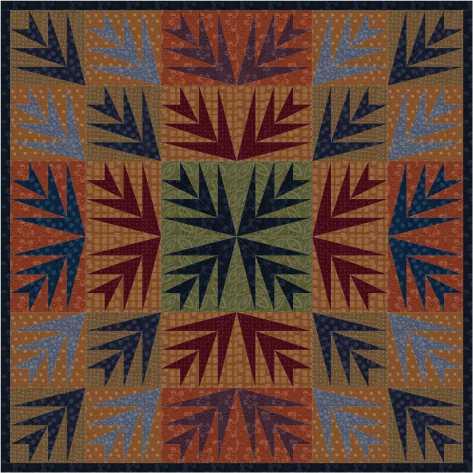 textured cotton quilt