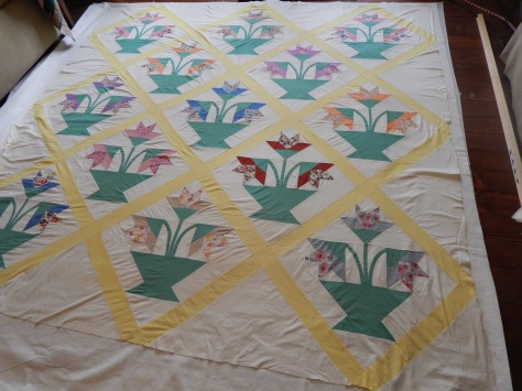 basket of lilies basted 001
