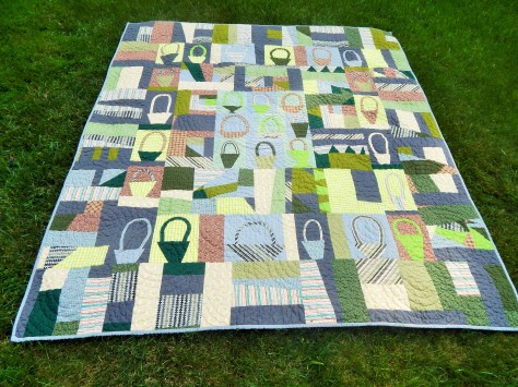 Liberated Basket Quilt